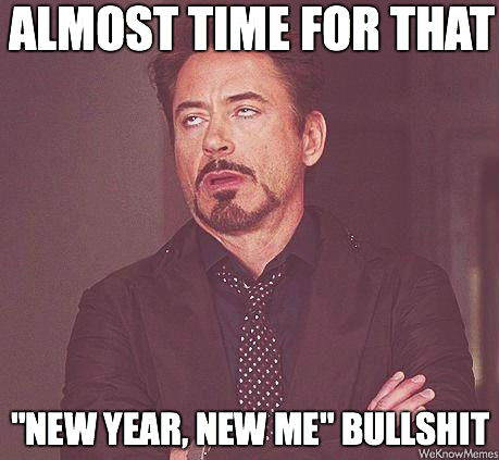 unDENYably…New Year, New Me?