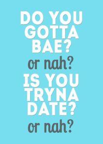 Single or Nah
